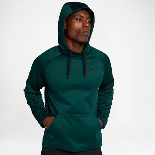NWT Men/'s Nike Big /& and Tall Therma Training Hoodie Green