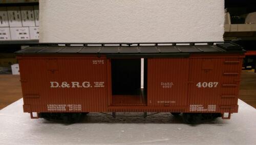 Denver and Rio Grande LGB G Scale 4067 Box Car
