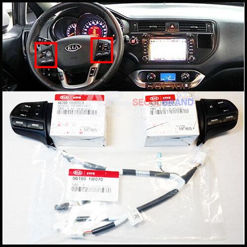 KIA 2012 2013 2014 Rio Rio5 Auto Cruise Control Switch + Audio Remote Switch 3EA