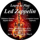 Led Zeppelin Guitar TABS Lesson CD 126 Songs + Backing Tracks + BONUS!