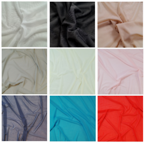 Power Net Mesh 4 Way Stretch Fabric Sheer Lining Swimwear