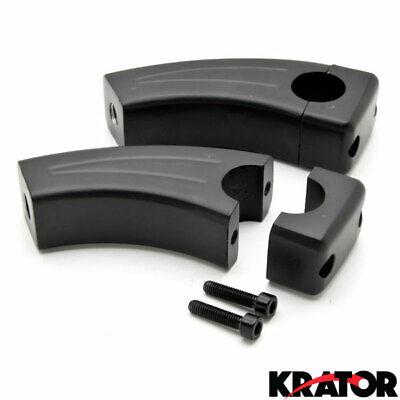 Krator Custom Chrome Motorcycle 1 Handlebar 3.5 Risers For Honda Shadow Sabre VT VF 700 750 1100