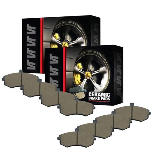 VTDC000251 Front and Rear Premium Quality Ceramic Brake Pads Kit