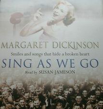 MARGARET DICKINSON - Sing As We Go  (AudioCD)  . FREE UK P+P ..................