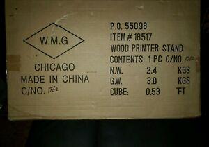 Brand-New-In-Box-Wood-Printer-Stand-18517-W-M-G