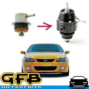 GFB FX-S Black Fuel Pressure Regulator GFB8051 Ford BA XR6 Turbo Barra 4.0L
