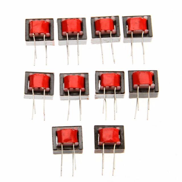 US 10pc Audio Trans formers 600:600 Ohm Europe 1:1 EI14 Isolation Transformer