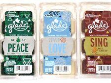 Glade Winter Collection Wax Melts ~ Vanilla, Gingerbread, Balsam Fir Pine Scents