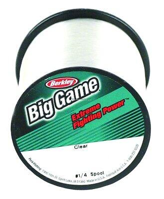 Berkley BGQS8-22 8 Lb Trilene Big Game Mono Line  Spool LoVis Green 1700 yards