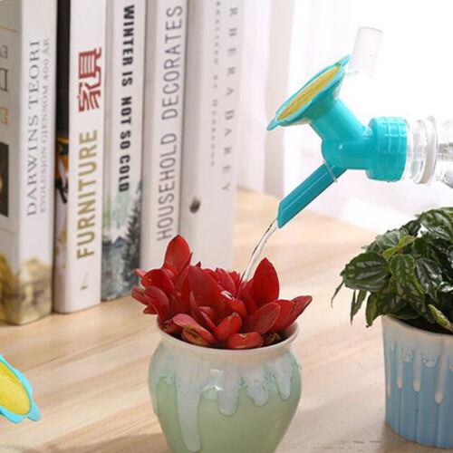 2In1 Kunststoff-Düse für Blumen-Pflanzen-Waterers-Flaschen-Gießkannen-SprinkleDJ