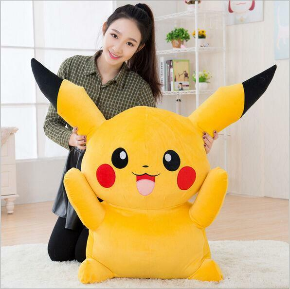 Giant Huge Pokemon go Pikachu Soft Stuffed Plush toys Kid Birthday Gift