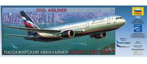 Zvezda  1:144  BOEING 767-300 AEROFLOT  ZVE7005