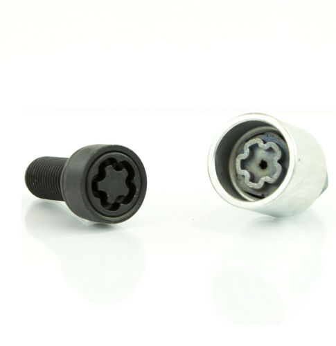 wheel locks bolts M14x1,5x27 Thatcham quality assured BLACK Skoda Superb 2002