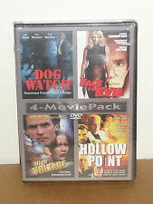 Dog Watch / Face The Evil / High Voltage / Hollow Point (DVD) 4-Movie Pack! NEW!