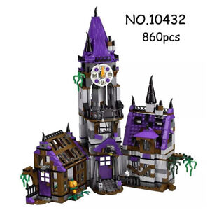 Toy-Scooby-Doo-Mystery-Mansion-Building-Educational-Blocks-10432-860-Pcs-Kids