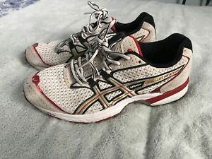 ASICS Duomax Gel Mens Size 6 White/Red