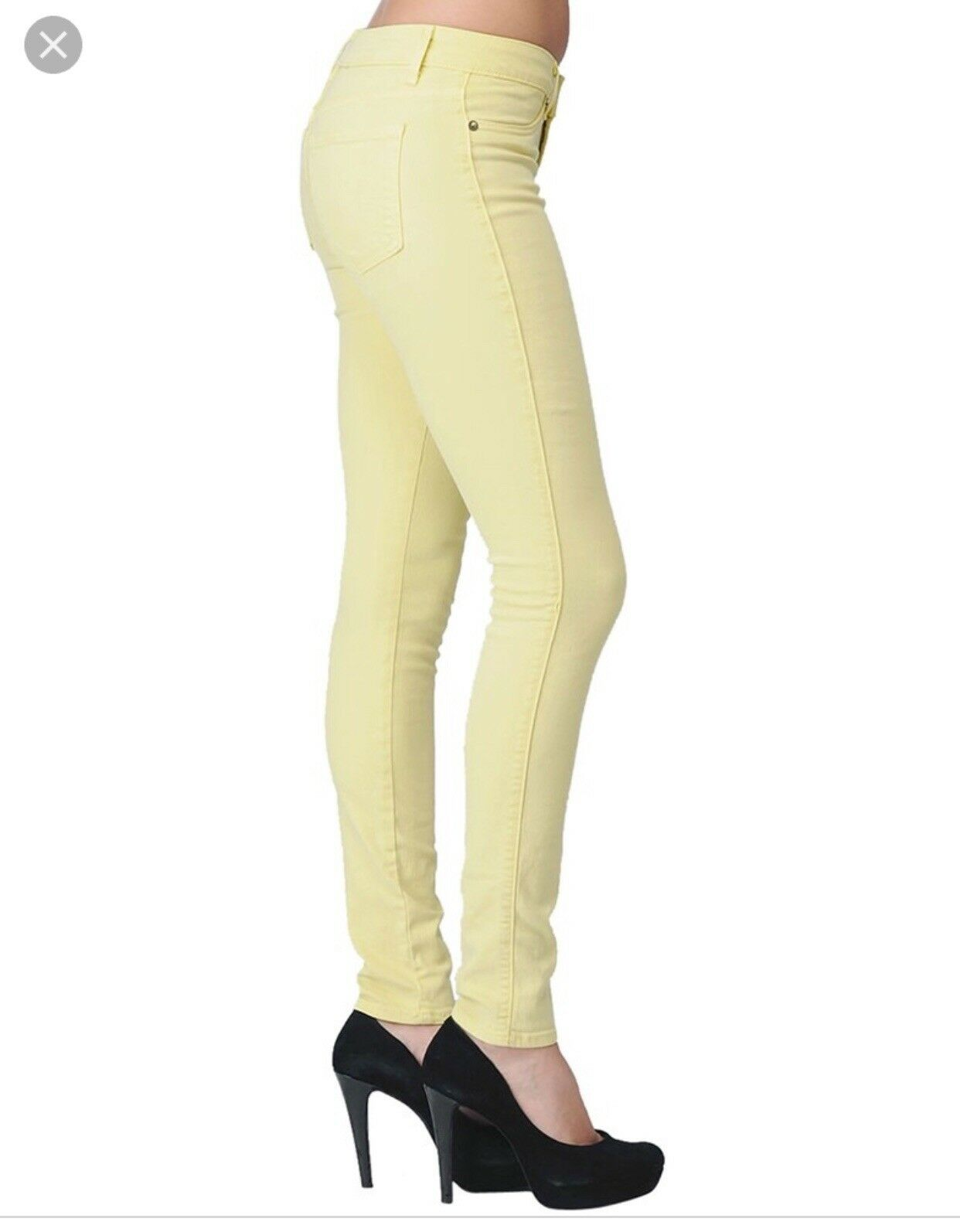 Rich and skinny Yellow Jeans Size 25