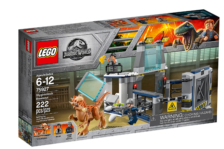 LEGO JURASSIC WORLD FUGA DEL STYGIMOLOCH 75927 NUEVO NEW
