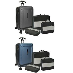 Traveler's Choice Barcelona 22″ Carry-on Polycarbonate Expandable Spinner