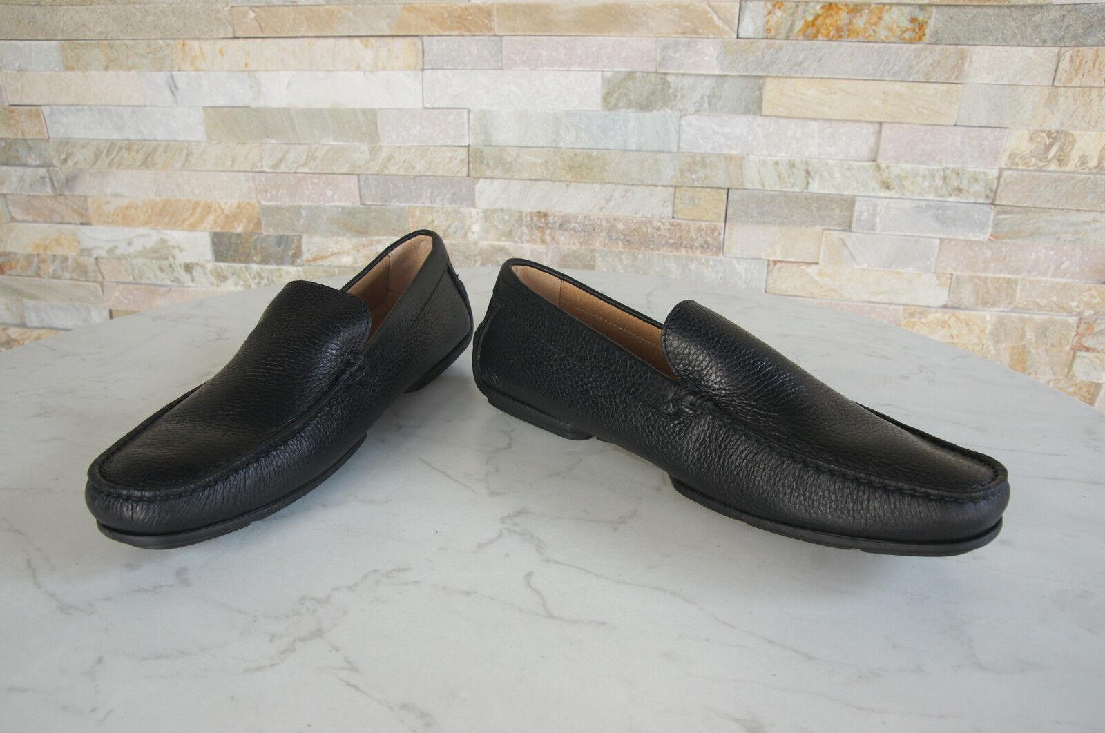 Harmont & Blaine Shoes Size 41,5 Slippers Moccasins Low Shoes Blaine Black New 56987b