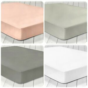 Appletree-100-Cotton-Flat-Sheet-and-Deep-Fitted-Sheets-All-Sizes-4-Colours
