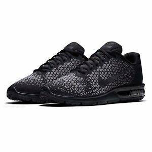 6d0dada6911720 Details about NIKE AIR MAX SEQUENT 2 852461 001 BLACK METALLIC HEMATITE-DARK  GREY SIZE 11.5
