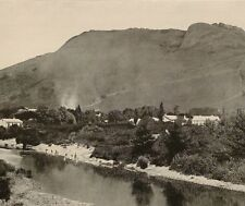 1899 PRINT COLONIAL SOUTH AFRICA THE PAARL TOWN BERG RIVER