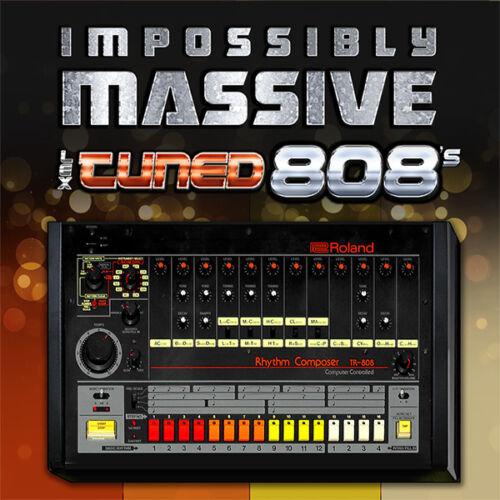 PREMIUM Roland Tuned 808 Bass Samples TR-808 TR-909 TR808 TR909 Hip Hop Trap XL