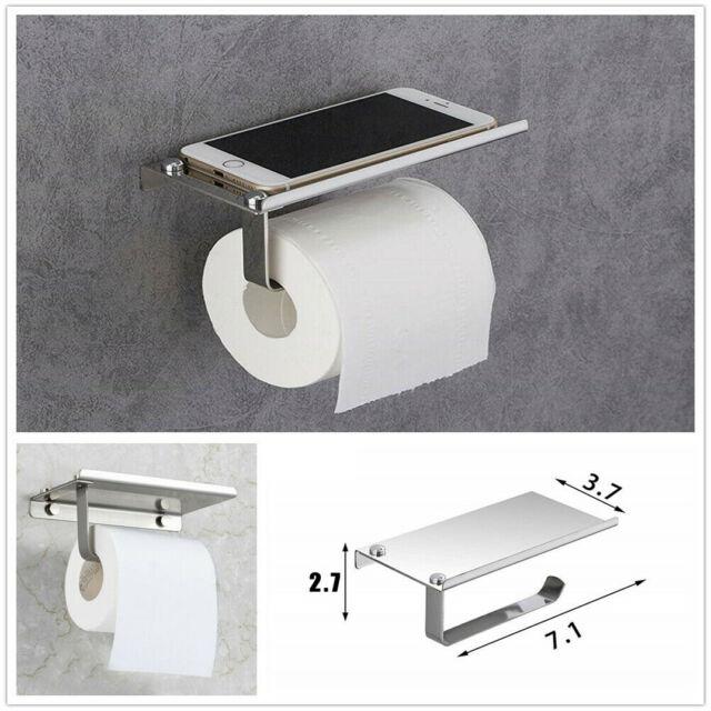 Toilet Paper Roll Holder Phone Rack