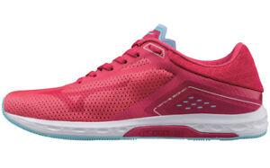 the best attitude 5491d f36cd Mizuno Women s Wave Sonic Running Shoe Pink virtual Pink blue Topaz 11 B US