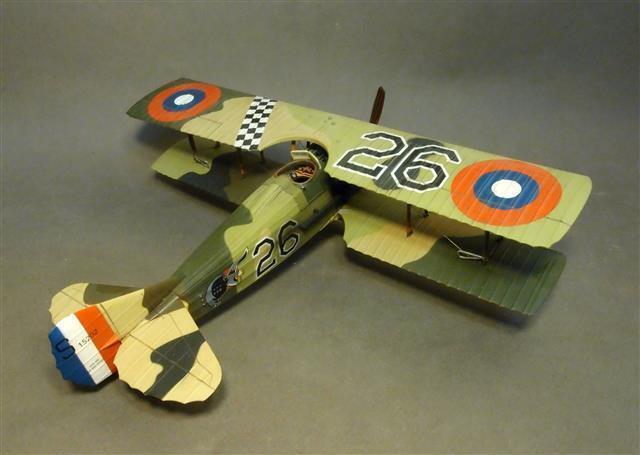 ACE-26 - Spad XIII S15202, 27th Aero Sqdn - Ritter der Himmel - John Jenkins