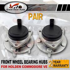 2 COMMODORE VE Front Wheel Hub Hubs Bearing ABS fit HOLDEN Sedan/Wagon/Ute V6 V8