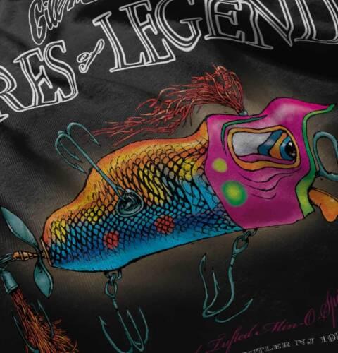 Orange Tounge Min-O-Spinner Fish Sporting Goods Fishing Gear T Shirt Tee