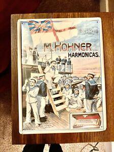 M.Hohner harmonicas Metal Sign