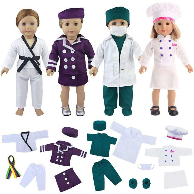 Doctor Suit Bjd Fashion Girl Doll Accessories Gift For Chilren Toys & Hobbies Dolls & Stuffed Toys