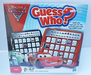 New-Sealed-Game-Disney-Pixar-Cars-2-Crew-Guess-Who-Kids-Max-Nigel-Raoul-Shu-6