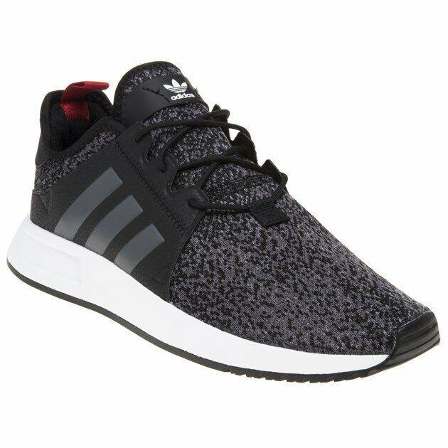 9b9cdc9b80d02 New MENS ADIDAS BLACK MULTI MULTI MULTI X plr TEXTILE Sneakers Running  Style f5700b