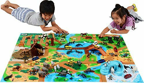 Takara Tomy Ania Zoo Animal Play set
