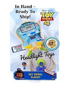 Disney-Pixar-Toy-Story-4-Mini-Giggle-McDimples-Pet-Patrol-Playset-Badge-HTF