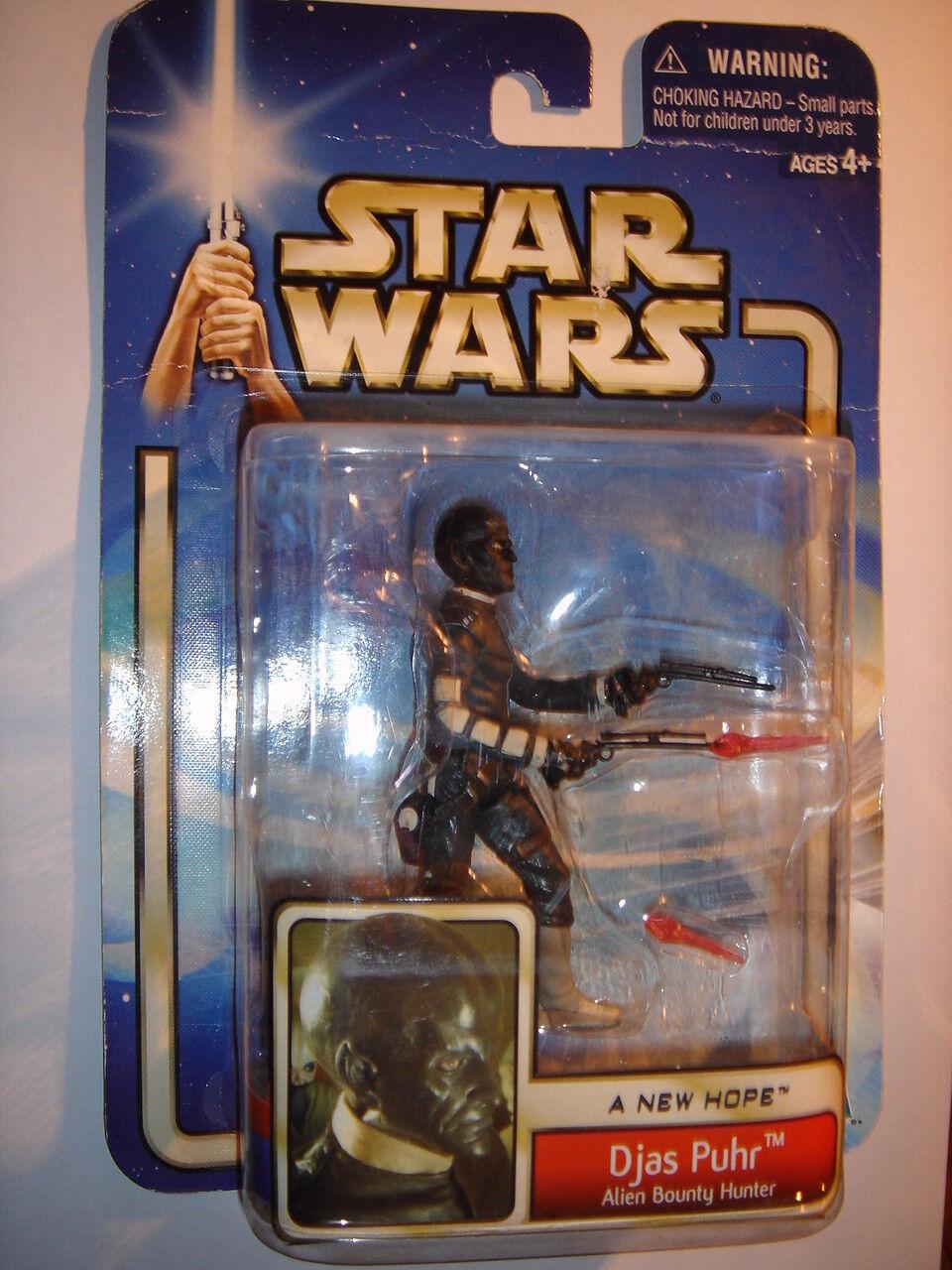 Figurine StarWars : Figurine star wars Djas Puhr a new hope Hasbro