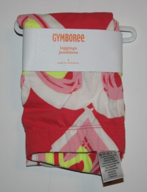 New Gymboree Scribble Heart Leggings Size 5 NWT Play by Heart