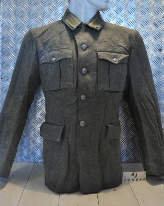 Suédois Original M39 Army Ajustée Veste Laine Ajustée Army les Années 1940 WWII - Taille 98 382b59