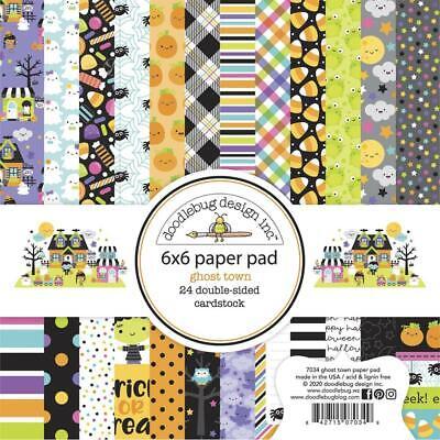 6 x 6 Paper Pad 7033 Doodlebug Design Pumpkin Spice Collection