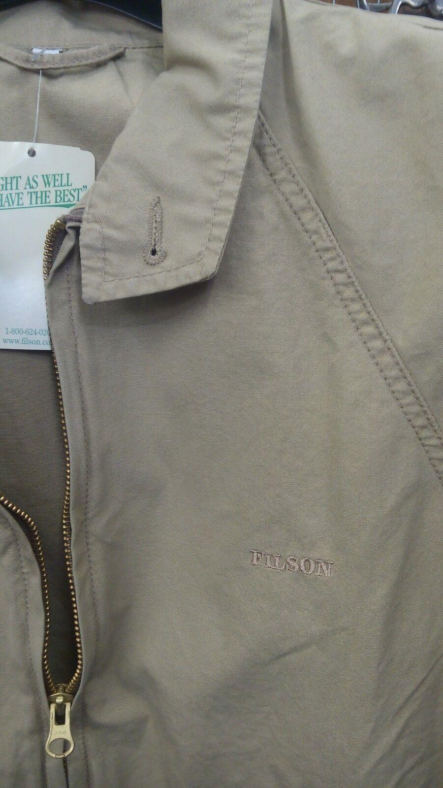 Giacca giubbotto cotone leggero FILSON tg 38 USA 48 ita ita ita 1d3c43