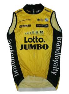 Lotto Jumbo Bianchi S-Phyre Vifit UCI World Tour Cycling Jersey Size S NLV