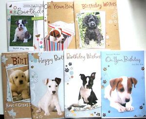 Image Is Loading Cute Puppies Quality Birthday Card Dog Pet Animal