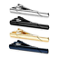4pcs-Mens-Stainless-Steel-Tie-Clip-Necktie-Bar-Clasp-Clamp-Pin-Gold-Black-Silver thumbnail 2