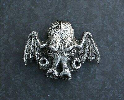 Demon Dictionnaire Infernal Lord of the Flies Pewter BEELZEBUB Belt Buckle