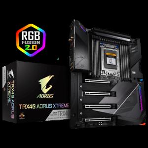 Gigabyte TRX40 AORUS XTREME Motherboard CPU TRX40 AMD Ryzen DDR4...