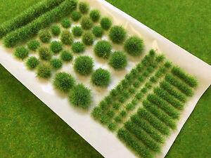 Discipliné Spring Big Vrai Tufts Mixte-modèle Décor Statique Herbe Naturel Chemin De Fer Wild-afficher Le Titre D'origine 100% De MatéRiaux De Haute Qualité
